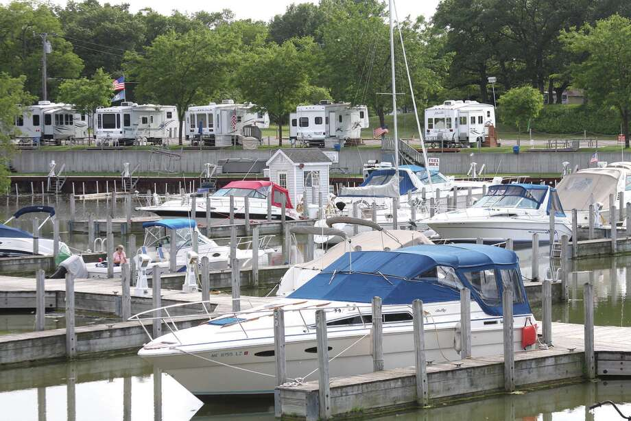 This scene of the harbor in Caseville will soon be a thing of the past as another boating season winds down this Labor Day Weekend. Huron County Sheriff Kelly J. Hanson issued a final plea for boating safety.