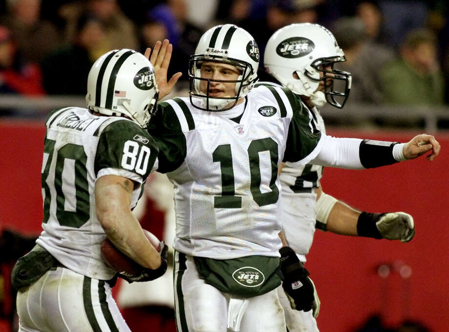 New York Jets. 2002Preseason: 4-0Regular season: 9-7After winning the AFC East in a three-team tiebreaker with New England and Miami, the Jets crushed the Colts 41-0 in the AFC wild-card round but were drilled 30-10 the following week in Oakland. Photo: JIM BOURG, REUTERS / X00035
