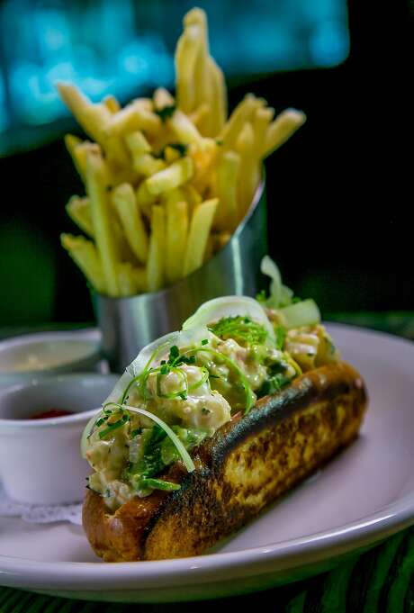 The Shrimp Roll at Corridor in San Francisco, Calif. is seen on September 1st, 2016. Photo: John Storey, Special To The Chronicle