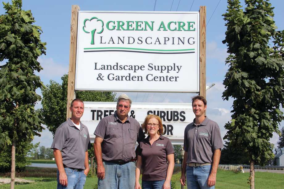 Green Acre Landscaping has always been a family run business. Pictured, from left, are owners Kyle, Bernie, Mary and Eric Sweeney.
