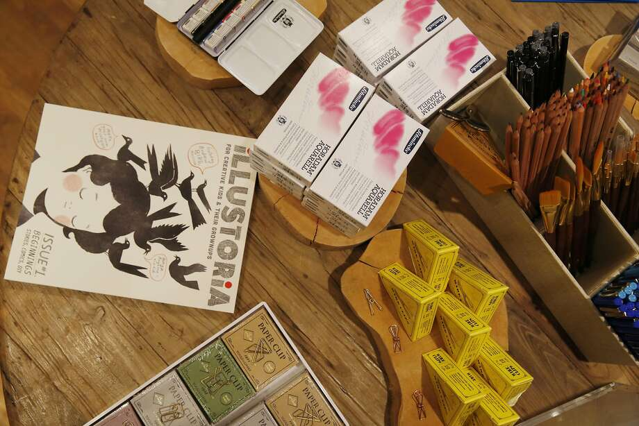 The Minted Local pop-up carries stationery, art and home-decor items. Photo: Lea Suzuki, The Chronicle