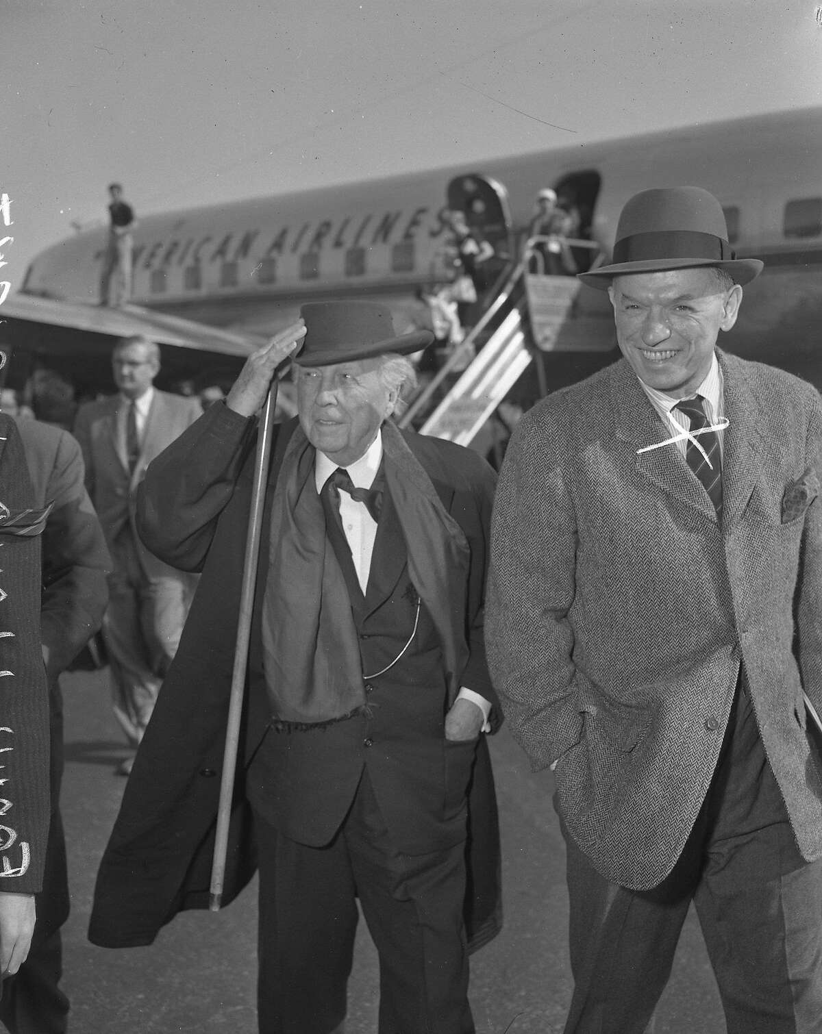 Frank Lloyd Wright Ran 05/05/1957