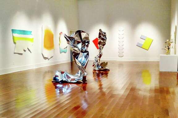 """New Beginnings: The Shape of Things to Come,"" featuring the work of seven artists, is on view at the Galveston Arts Center's main gallery through Oct. 2."
