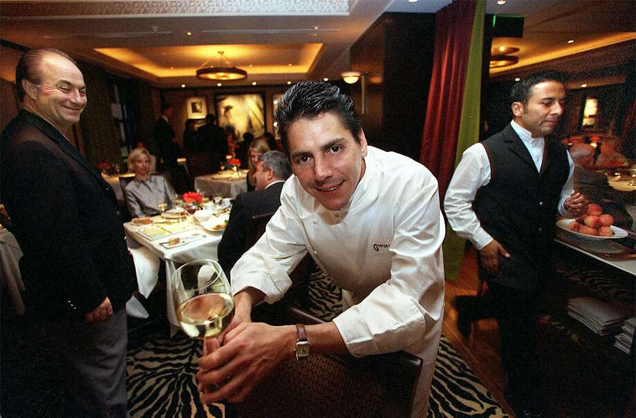 1999: George Morrone at Fifth Floor in S.F. Photo: LIZ HAFALIA