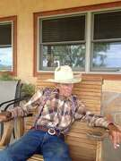 Ike Roberts, 76, still works hard, despite falling off a windmill and experiencing assorted other injuries that come with being a cowboy.