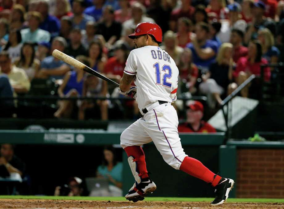 Among the eight Texas Rangers prospects questioned for sexual assault allegations of a teammate is Rougned Odor, the younger brother of the Rangers second basemen Rougned Odor (seen here).Keep clicking to see social media fails that landed people in hot water. Photo: Tony Gutierrez, Associated Press / Copyright 2016 The Associated Press. All rights reserved.