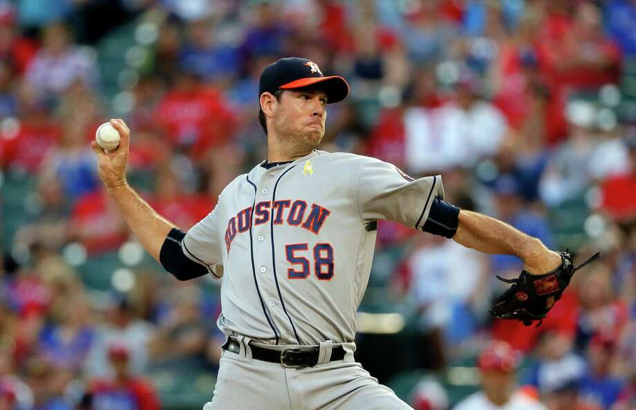 Former Astros starter Doug Fister agreed to terms on a major league deal with the Los Angeles Angels, according to multiple reports. Photo: Tony Gutierrez, Associated Press / Copyright 2016 The Associated Press. All rights reserved.