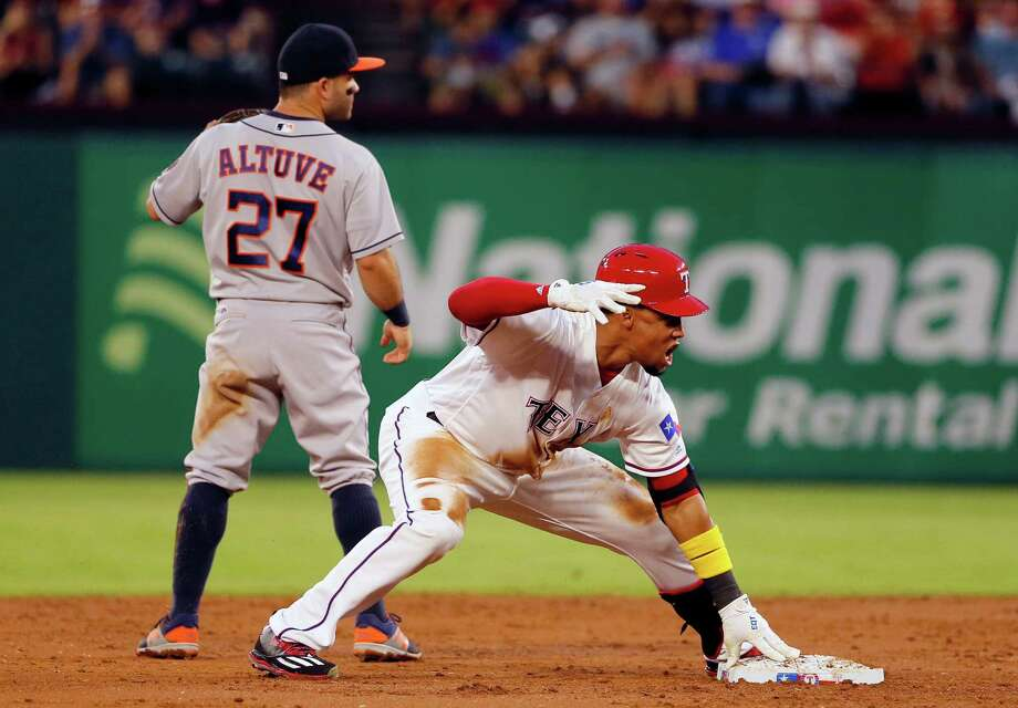 Despite the Astros' stellar start through April, an interstate nemesis can spoil it on Monday, when the Rangers visit Minute Maid Park for a four-game set. Photo: Tony Gutierrez, Associated Press / Copyright 2016 The Associated Press. All rights reserved.