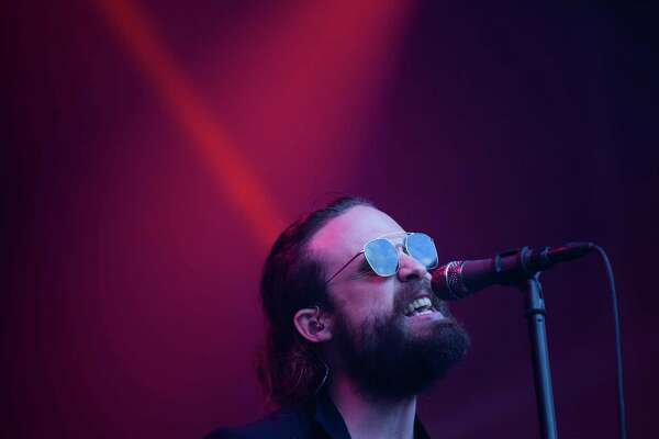 Father John Misty performs on the first day of Bumbershoot, Friday, Sept. 2, 2016.