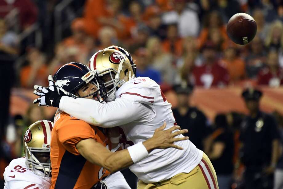 Claimed off waivers: DT Garrison Smith Photo: John Leyba/Denver Post Via Getty Images