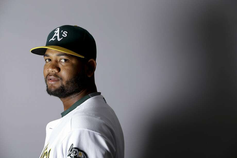 This is a 2016 photo of Raul Alcantara of the Oakland Athletics baseball team. This image reflects the Oakland Athletics active roster as of Monday, Feb. 29, 2016, when this image was taken. (AP Photo/Chris Carlson) Photo: Chris Carlson, AP