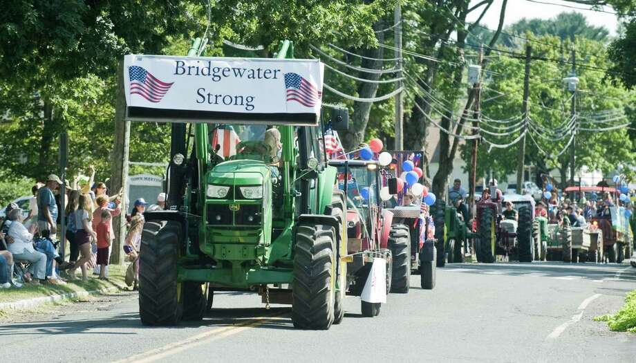 The annual Bridgewater Tractor Parade on Main Street South in Bridgewater. Sunday, Sept. 4, 2016 Photo: Scott Mullin / For Hearst Connecticut Media / The News-Times Freelance