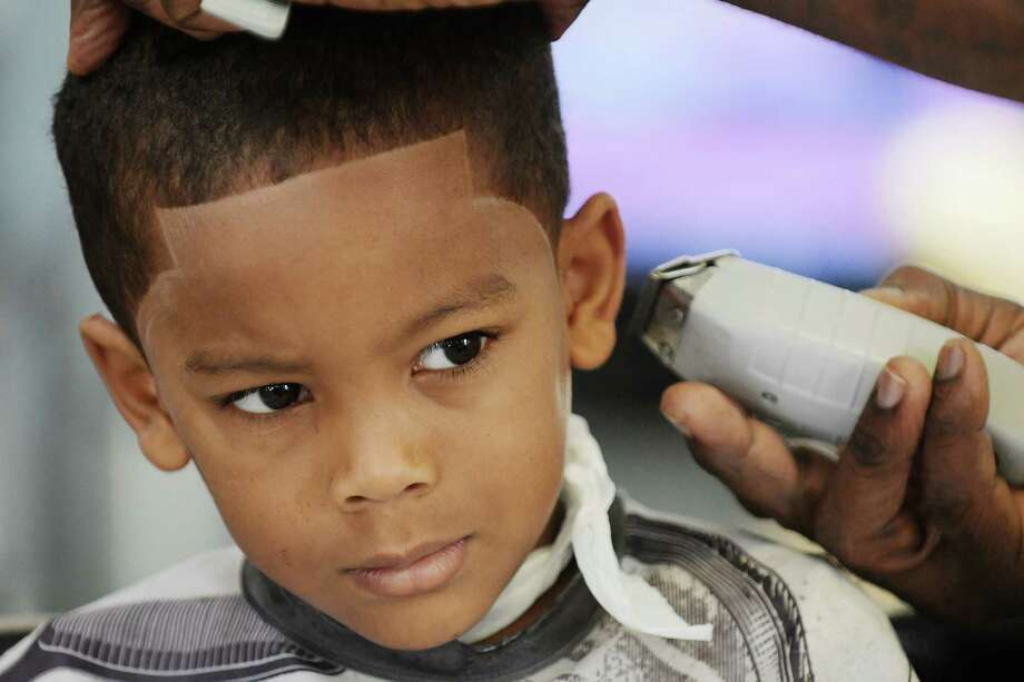 Photos Kids Get Free Haircuts Times Union