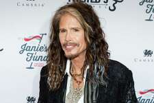 "FILE - In this May 2, 2016 file photo, Steven Tyler appears at ""Steven Tyler…OUT ON A LIMB"" event in New York. Tyler, a frontman for the rock band Aerosmith, released a country album, ""We're All Somebody From Somewhere."" (Photo by Michael Zorn/Invision/AP, File) ORG XMIT: NYET461"