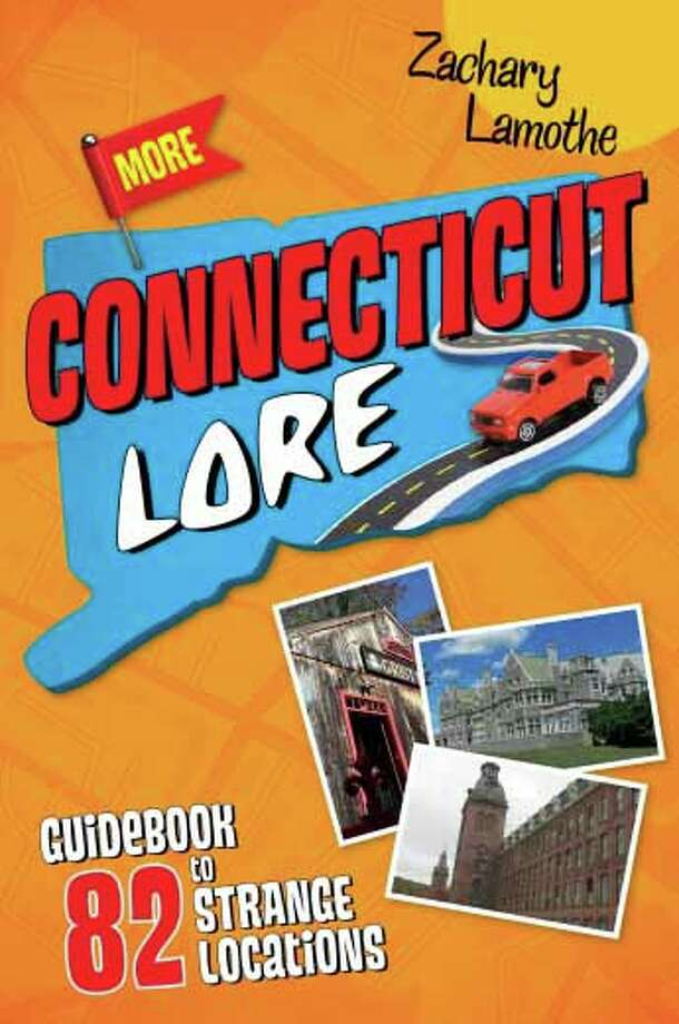 Author Zachary Lamothe has published his second volume of Connecticut lore. Photo: Contributed Photo /