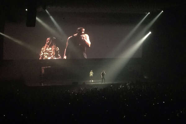 Drake brought out Lil Wayne during his second Houston show.