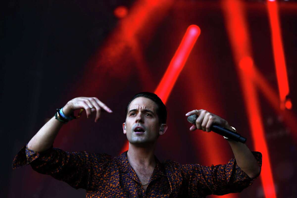 G-Eazy plays the Main Stage stage on day three of Bumbershoot, Sunday, Aug. 4, 2016.