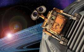 "In this image released by Walt Disney Co., a scene from the Disney/Pixars animated feature, ""Wall-E"" is shown. The film, a story of one robots comic adventures as he chases his dream across the galaxy, is set for release on June 27. (AP Photo/Walt Disney Co.) ** NO SALES **"