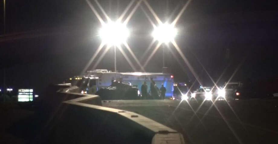 DPS trooper injured in crash; Gulf Freeway closed at NASA Road 1