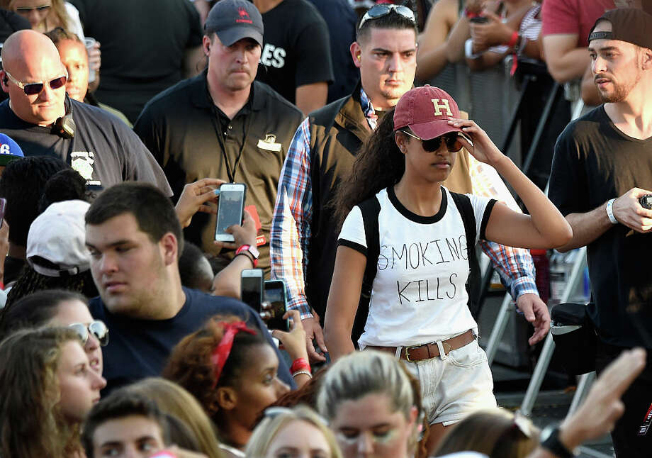 Malia Obama attends the 2016 Budweiser Made in America Festival  at Benjamin Franklin Parkway on September 4, 2016 in Philadelphia, Pennsylvania. Photo: Kevin Mazur/Getty Images For Anheuser-Busch