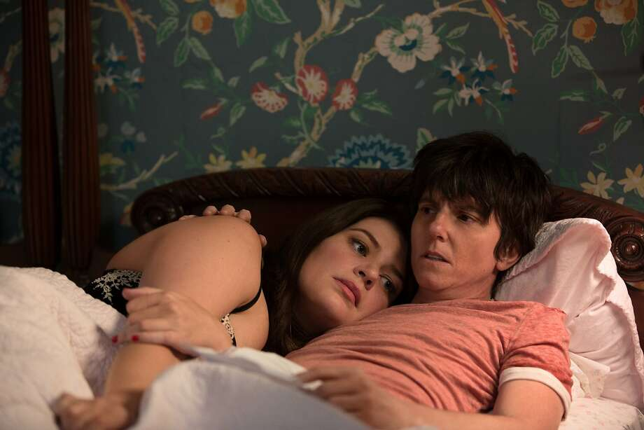 """A desperately ill Tig Notaro gets a visit from her mother, Caroline (Rya Kihlstedt), in """"One Mississippi,"""" which somehow makes the humor work. Photo: Courtesy Amazon Prime"""