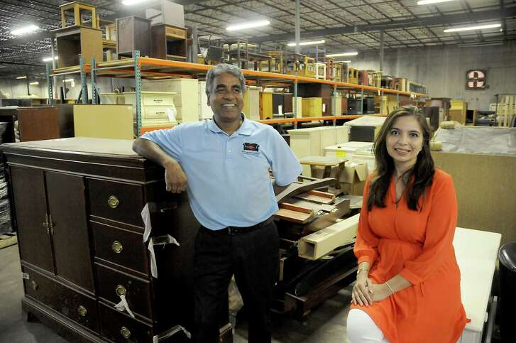 Oli Mohammed and Saima Seyar have big plans for the new Furniture Bank on Mosley.