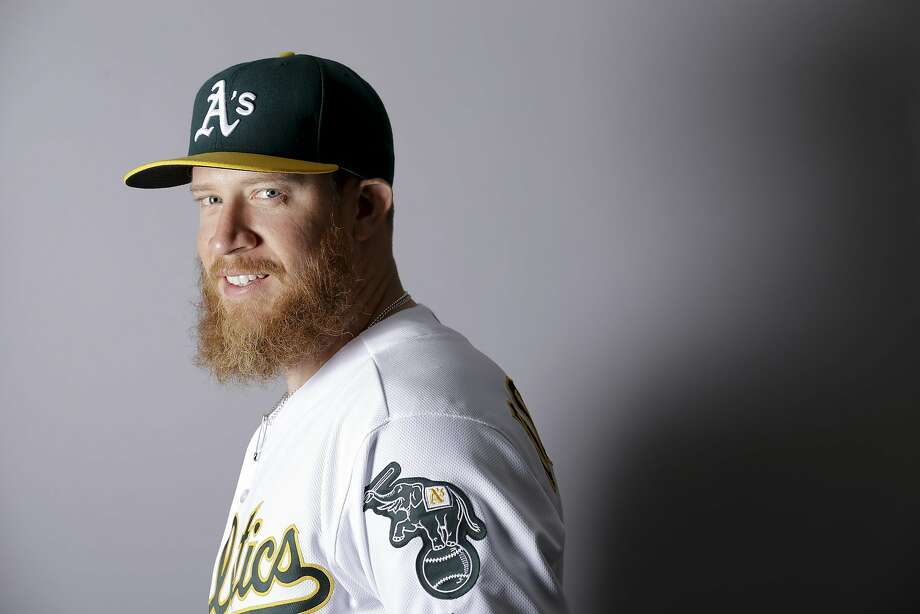 This is a 2016 photo of Sean Doolittle of the Oakland Athletics baseball team. This image reflects the Oakland Athletics active roster as of Monday, Feb. 29, 2016, when this image was taken. Photo: Chris Carlson, AP