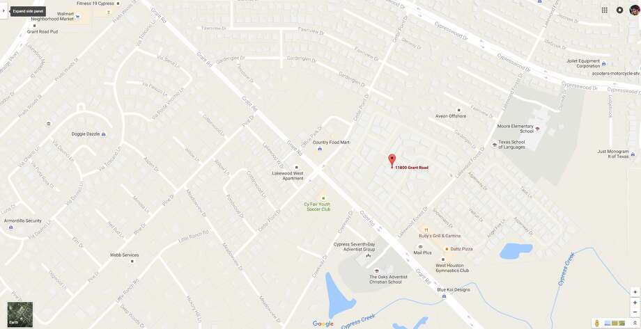 Map Of Northwest Texas.Fatal Shooting In Northwest Harris County Houston Chronicle