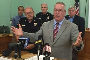 Cohoes Mayor Shawn Morse talks about Route 787 crash that killed 16-year-old Brittany Knight, who was crossing the street when she was hit by a car on June 16. (Cindy Schultz / Times Union)