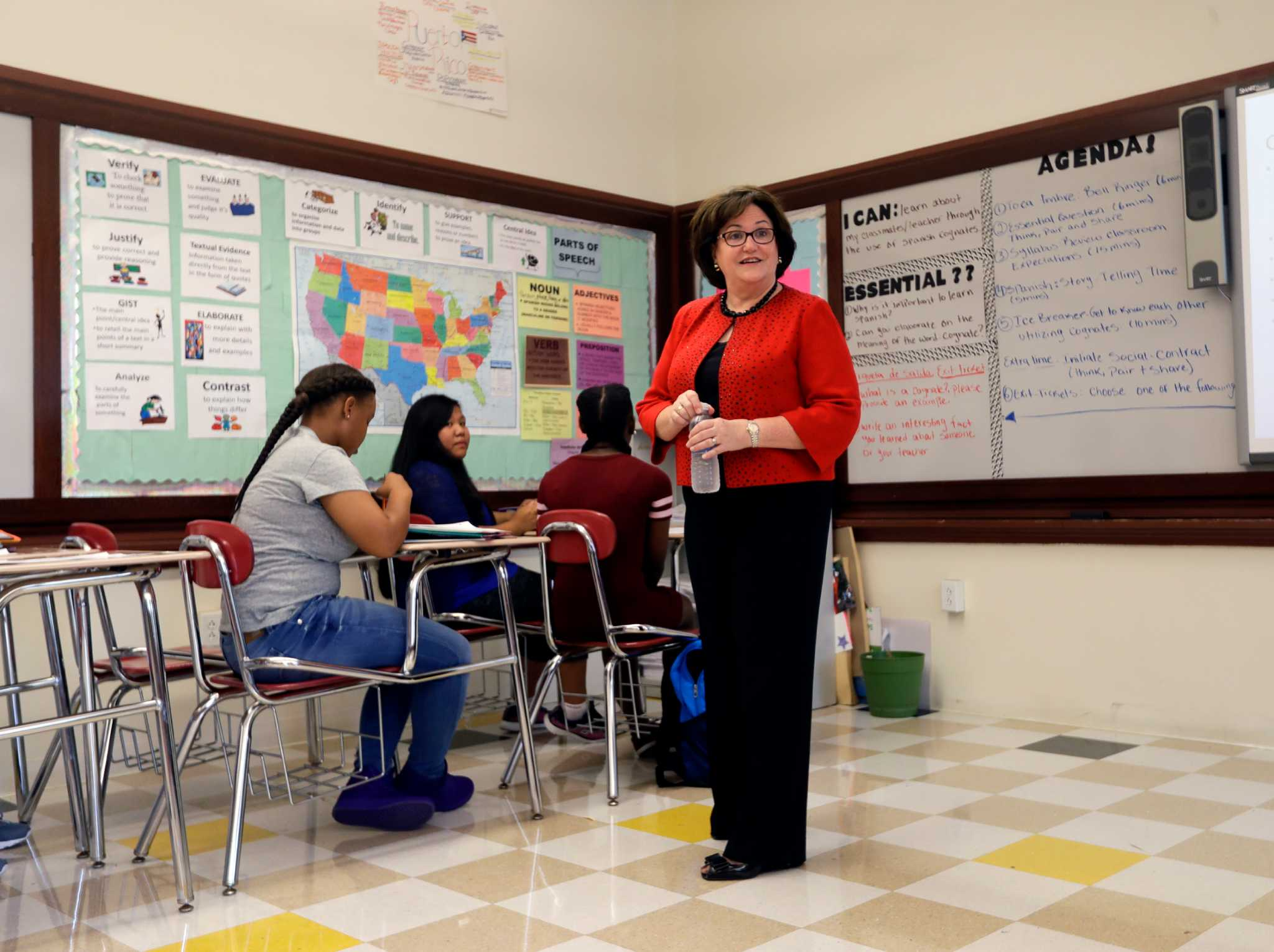 Education Commissioner Maryellen Elia Sued After Touting Hacketts