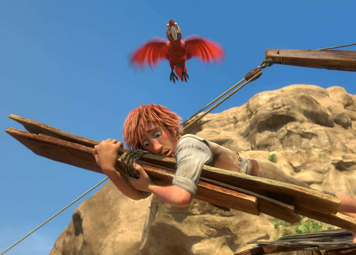 """Will parents get on board? """"The Wild Life"""" retells """"Robinson Crusoe"""" through the eyes of cute animals. The slapstick is constructed for kids, but most parents will probably be bored. Photo: Courtesy of Lionsgate"""