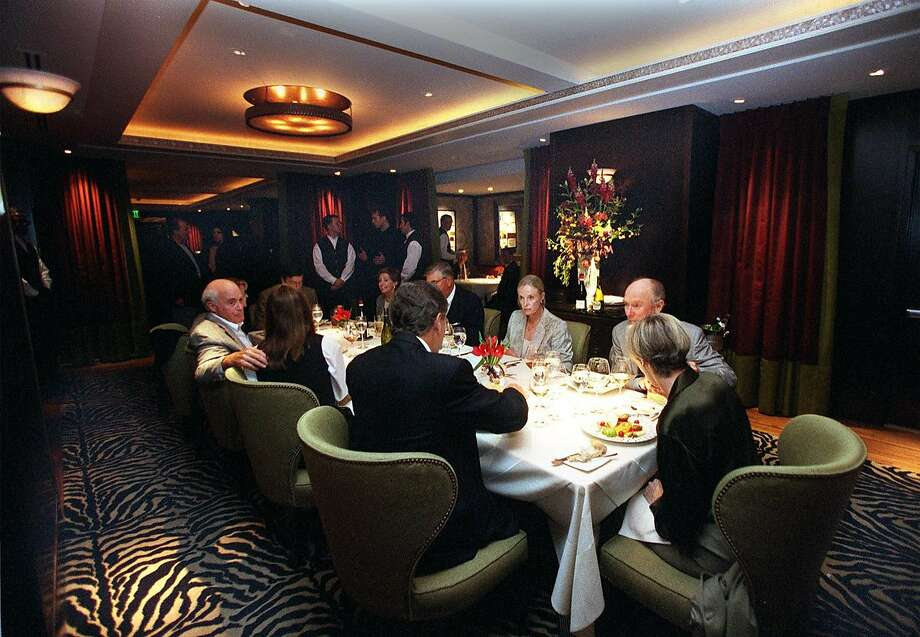 The Dining Room At The Fifth Floor In S.F. Photo: LIZ HAFALIA