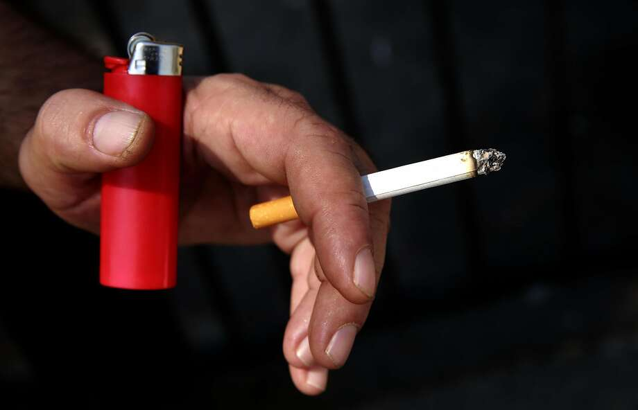 About 40 million U.S. adults are cigarette smokers, and smoking is the top cause of preventable deaths. Photo: Michael Macor, The Chronicle