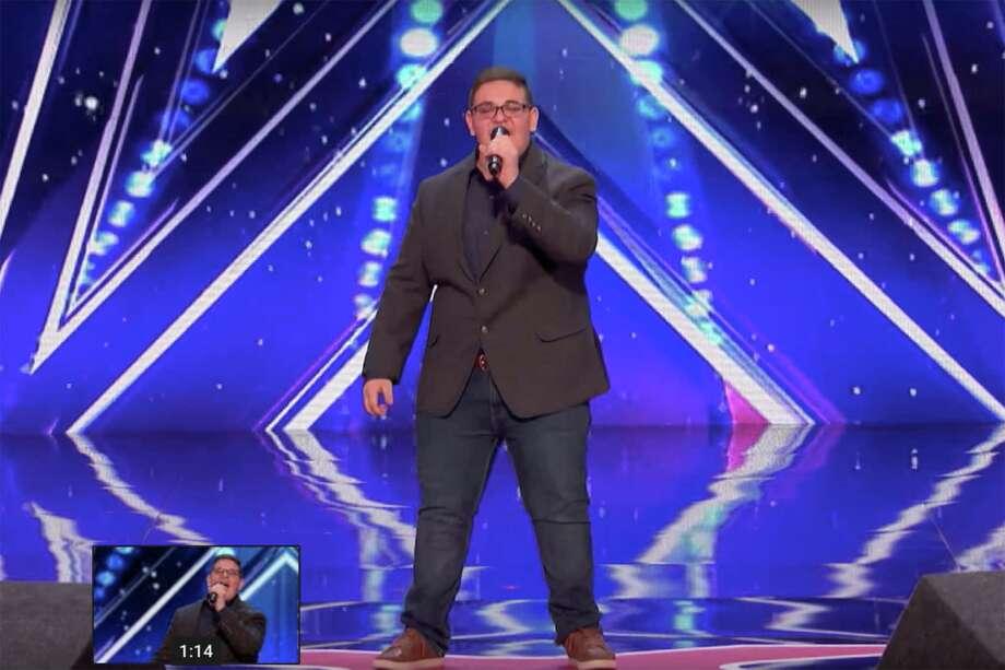 Singer Christian Guardino wins Howie Mandel's Golden Buzzer - America's Got Talent 2017