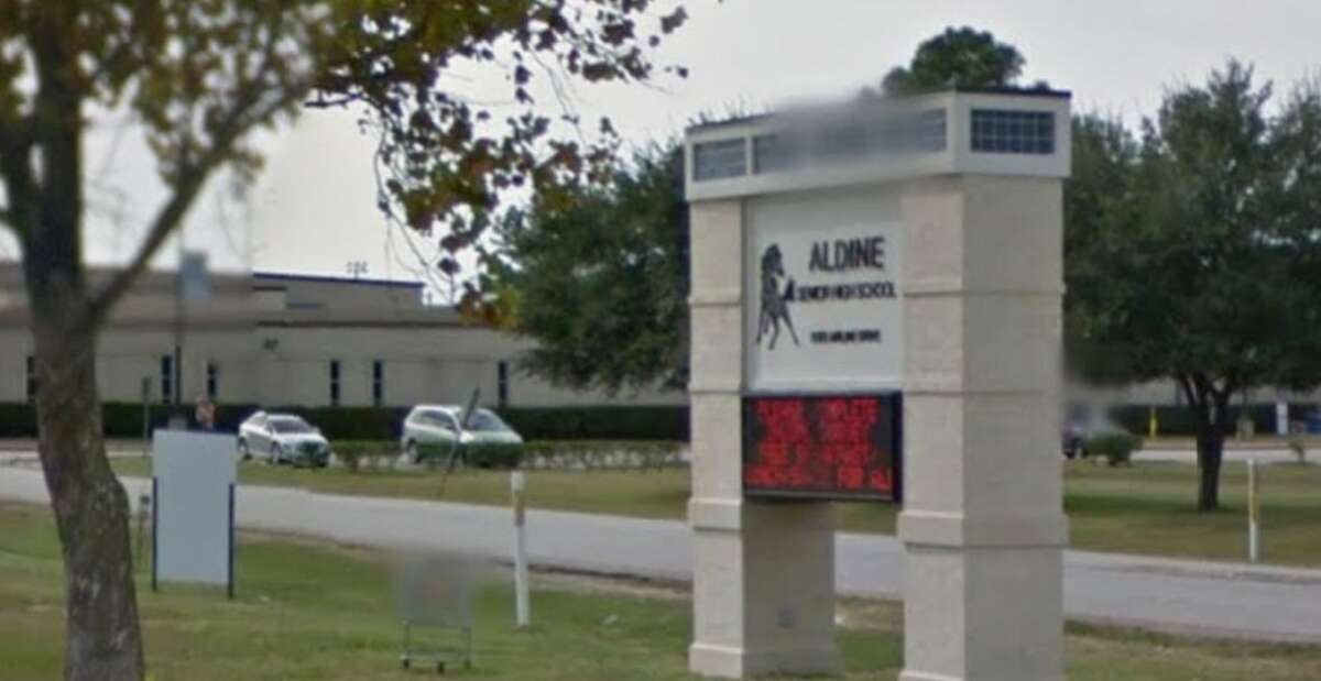 Aldine ISD  Conduct punishable as a felony: 19 Public lewdness/indecent exposure: At least 5 Arson: At least 1 Assault: At least 138 School related gang violence: At least 7 Breach of computer security: At least 1