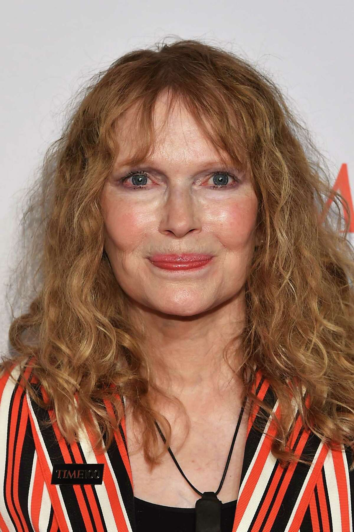 Mia Farrow attends the 2016 Time 100 Gala, Time's Most Influential People In The World in New York City in April