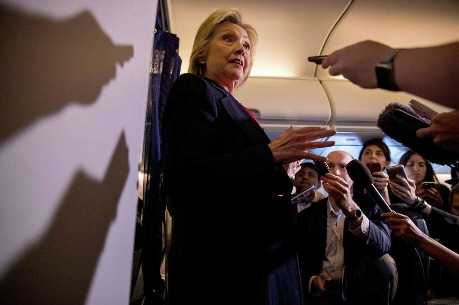 Democratic nominee Hillary Clinton said the FBI has already resolved questions about her emails. Photo: Andrew Harnik, STF / Copyright 2016 The Associated Press. All rights reserved.
