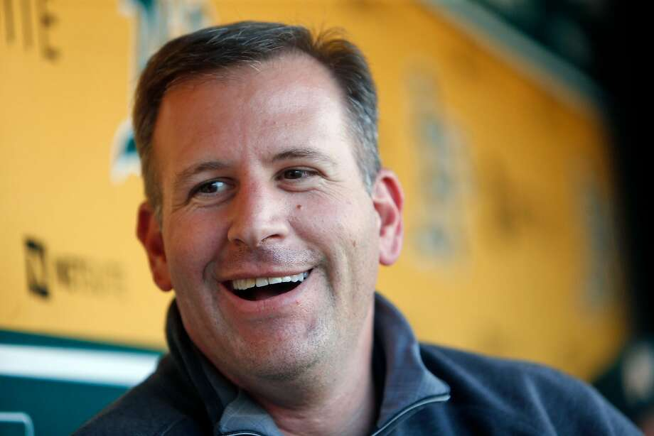 Oakland Athletics' General Manager David Forst at Oakland Coliseum in Oakland, Calif., on Tuesday, September 6, 2016. Photo: Scott Strazzante / The Chronicle