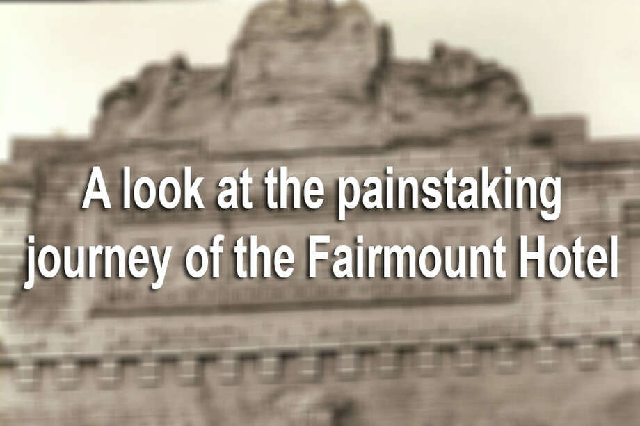 The Fairmount Hotel took a six-day journey in the spring of 1985 from the intersecion of Bowie and Commerce streets to La Villita to avoid being demolished.Here's a look back at the painstaking move. Photo: File