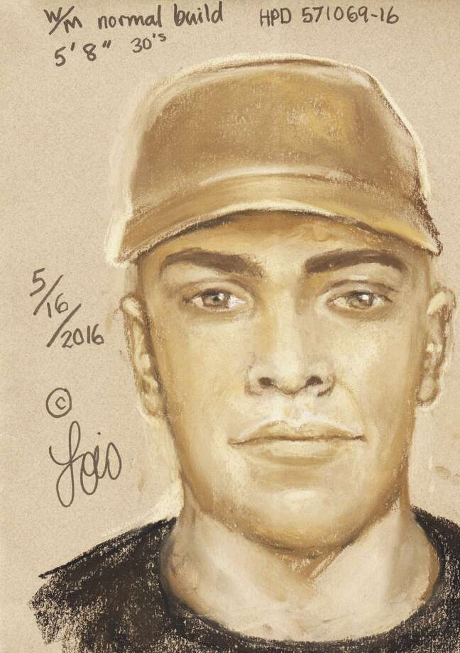 Police have released a sketch of a suspect in the fatal shooting of a man about 12:10 a.m. May 5, 2016, in the 3400 block of Unity Drive in southwest Houston. The victim, Tomas Gonzalez-Canil, had just returned home with take-out food for his family. (Houston Police Department)