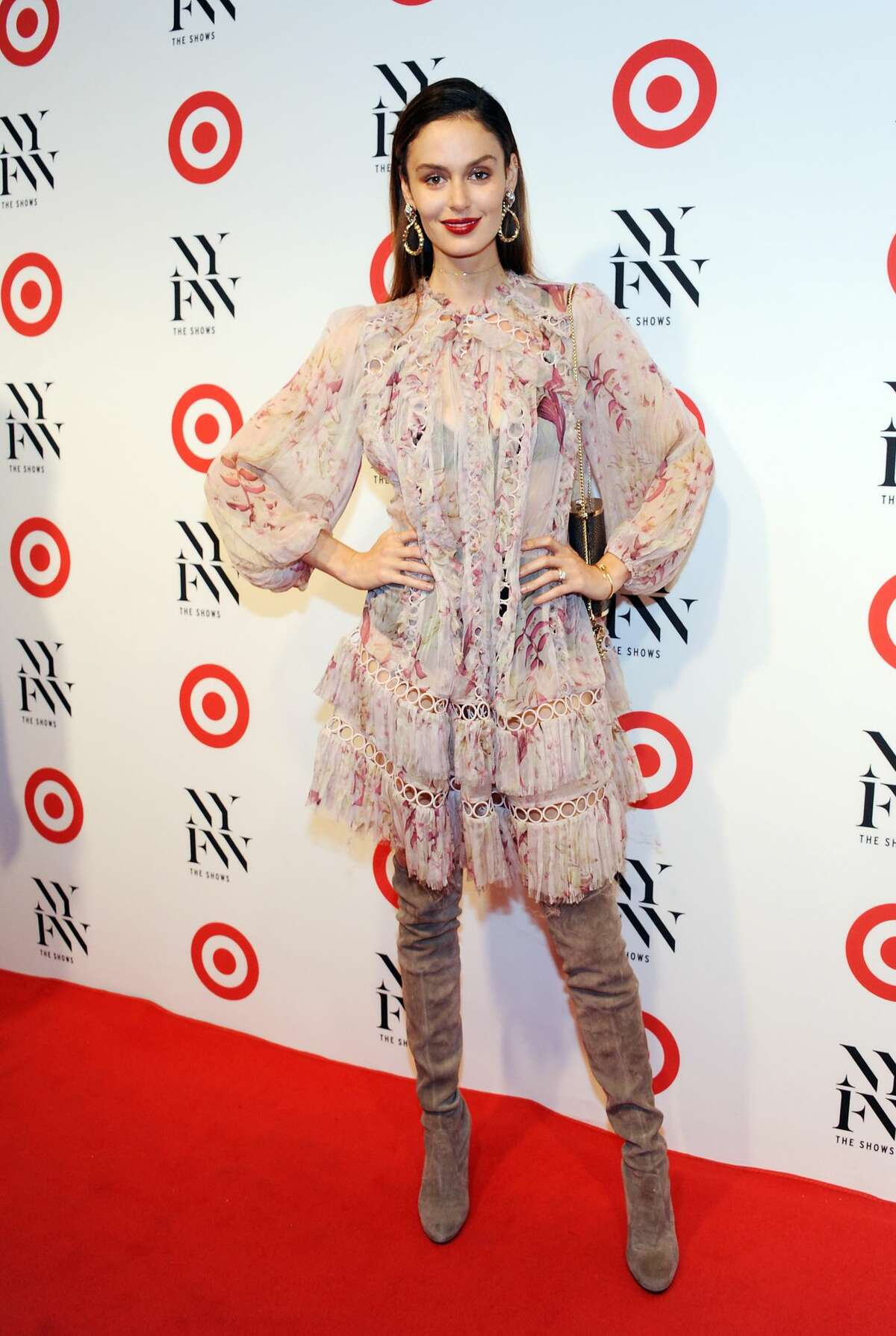 NEW YORK, NY - SEPTEMBER 06: Model Nicole Trunfio attends Target + IMG New York Fashion Week Kickoff event at The Park at Moynihan Station on September 6, 2016 in New York City. (Photo by Desiree Navarro/WireImage)