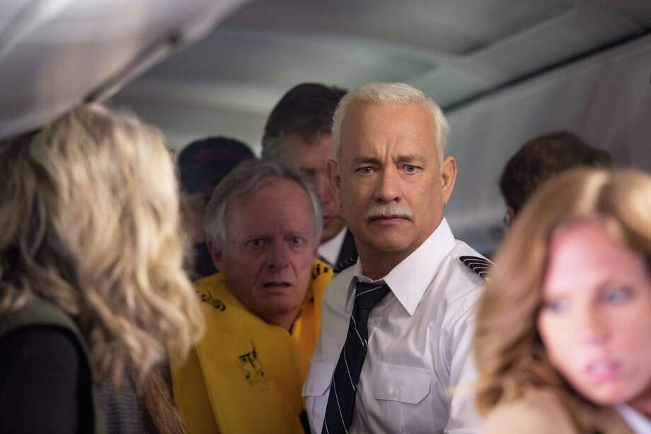 """This image released by Warner Bros. Pictures shows Tom Hanks in a scene from """"Sully."""" (Keith Bernstein/Warner Bros. Pictures via AP) Photo: Keith Bernstein, HONS / © 2015 Warner Bros. Entertainment Inc. All Rights Reserved."""