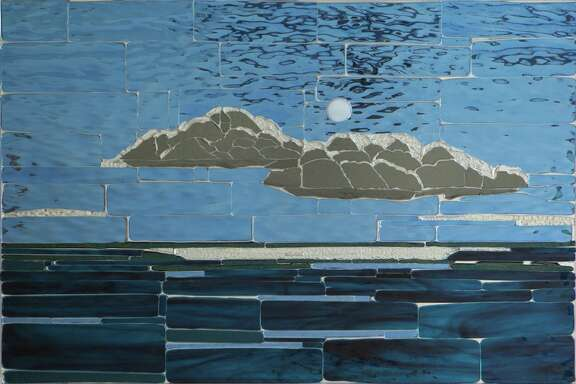 """Libbie Masterson's mixed media show """"Spectrum"""" is on view Saturday through Oct. 15 at Catherine Couturier Gallery."""