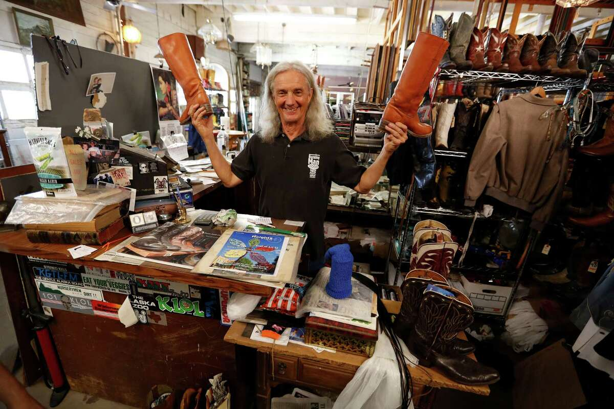 Bob Novotney started his Texas Junk Company store 37 years ago.