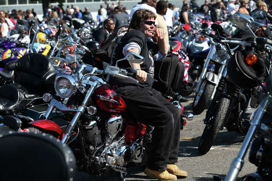 Riders attend the 13th annual CT United Ride, the largest 9/11 Tribute in CT, in Norwalk on Sunday, Sept. 8, 2013. Photo: BK Angeletti / B.K. Angeletti / Connecticut Post freelance B.K. Angeletti