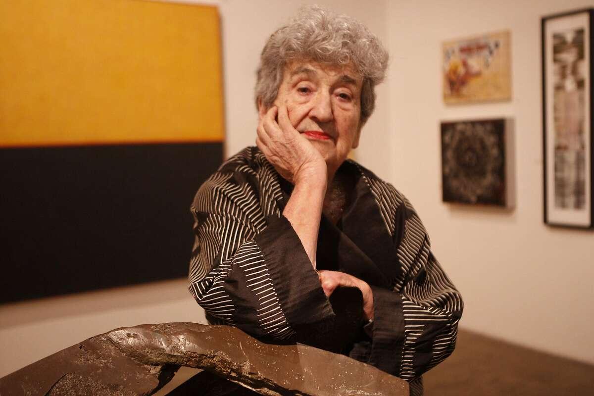 Ruth Braunstein in her Braunstein/Quay gallery in San Francisco in 2011.