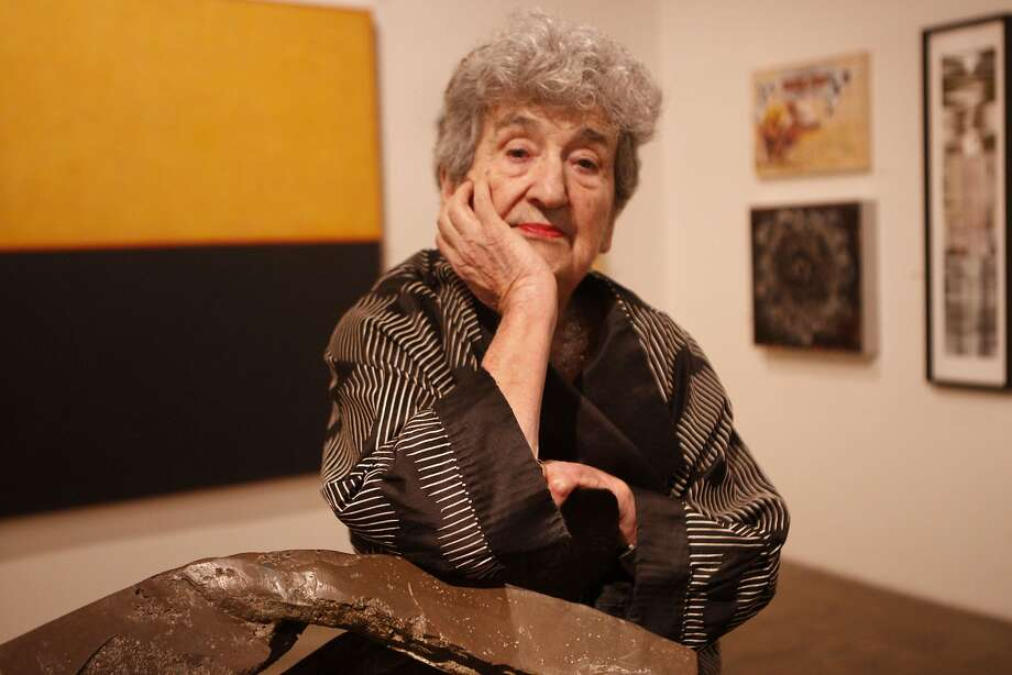 Ruth Braunstein in her Braunstein/Quay gallery in San Francisco in 2011. Photo: Audrey Whitmeyer-Weathers, The Chronicle