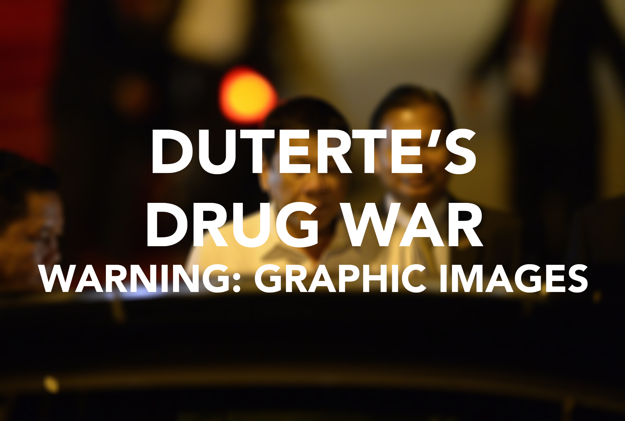 Philippine President Reaffirms His Deadly Anti Drug Campaign