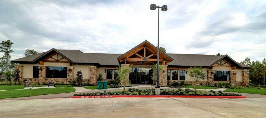 Taylor Morrison's clubhouse at Bonterra at Woodforest, the south Montgomery County community for ages 55 and up. Photo: Courtesy