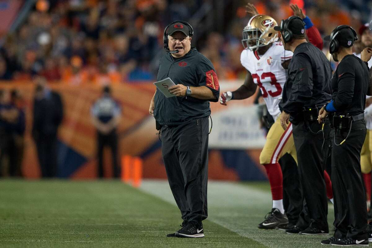 32. San Francisco (5-11 last season) Chip Kelly has all kinds of problems with his roster, beginning with an issue at quarterback with Blaine Gabbert.